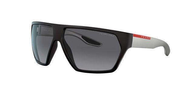 Prada Linea Rossa Man PS 08US - Frame color: Black, Lens color: Grey-Black, Size 67-12/130