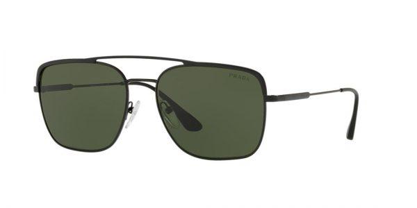 Prada Man PR 53VS - Frame color: Black, Lens color: Green, Size 59-18/145