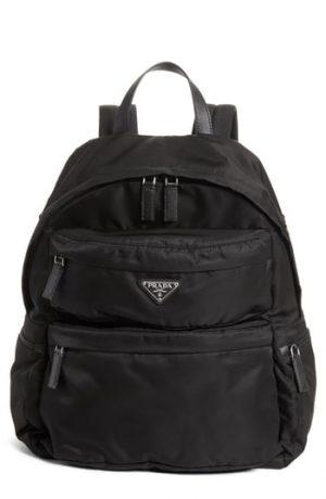 Prada Tessuto Nylon Backpack -