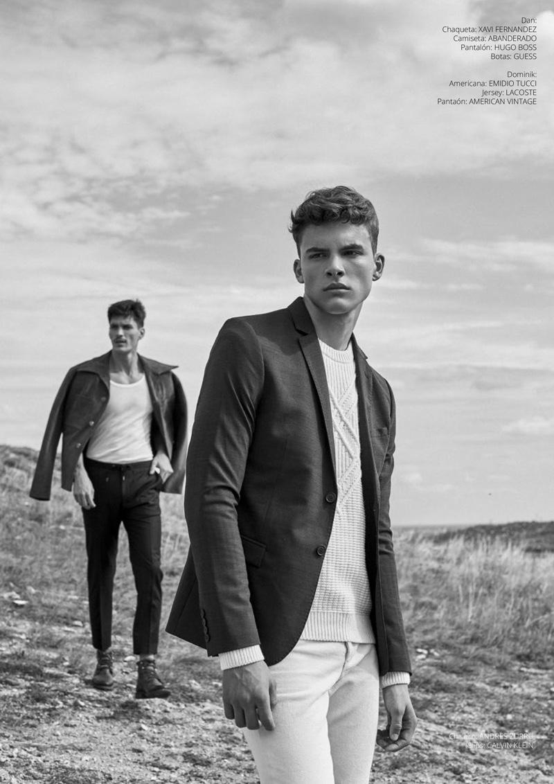 Budaors Fields: Dominik & Dan for Risbel Magazine