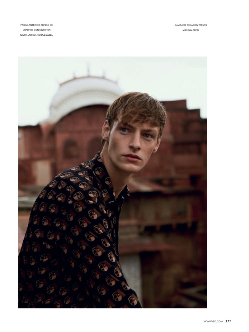 Roberto Sipos Travels to India for Spanish GQ