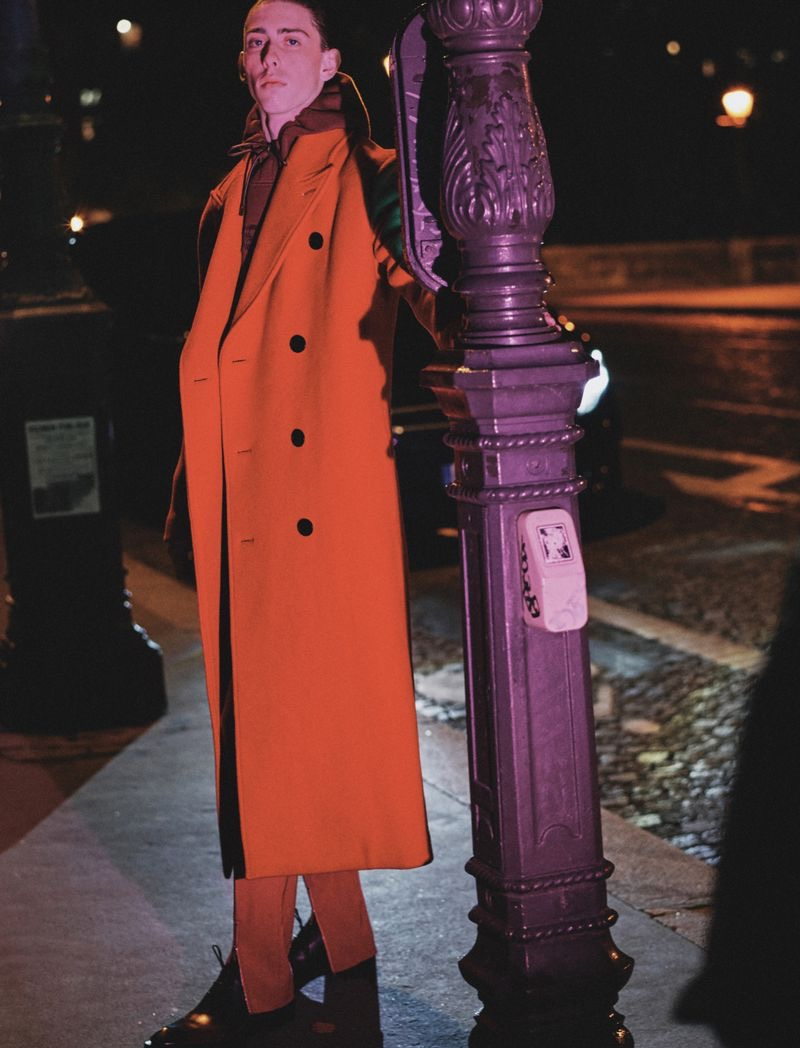 Cold Night: Rodrigue Durard for Esquire Korea