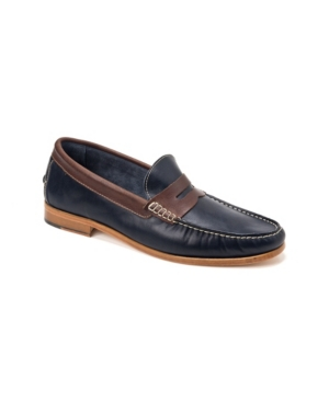 Sandro Moscoloni Moccasin Toe Penny Strap Slip-On Men's Shoes