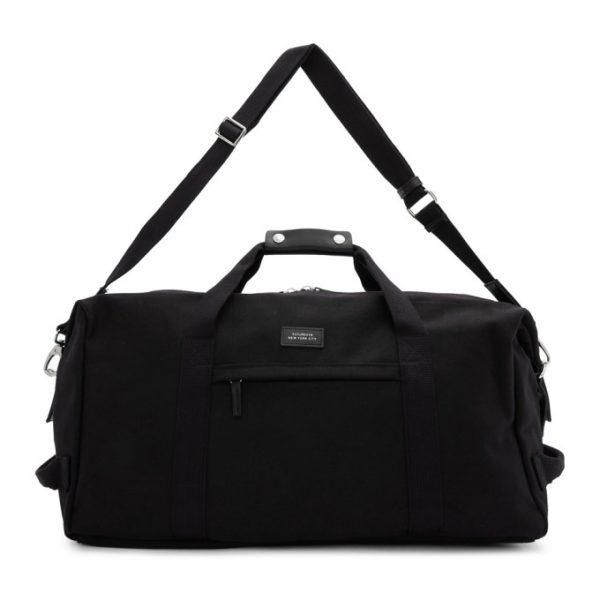 Saturdays NYC Black Core Norfolk Hold All Duffle Bag