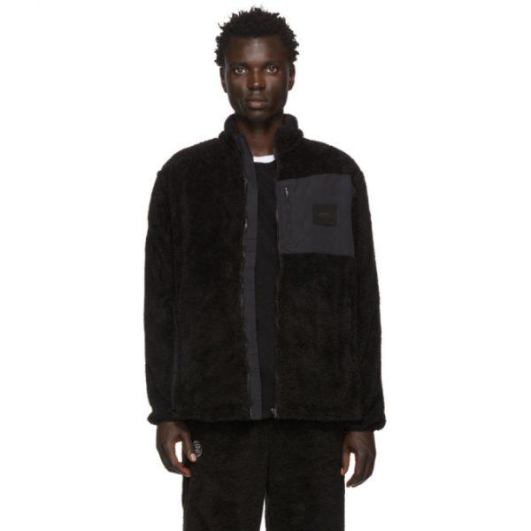 Saturdays NYC Black Fleece Stenstrom Jacket