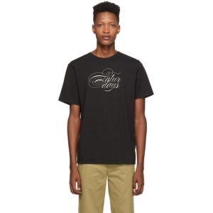 Saturdays NYC Black Middle Script T-Shirt