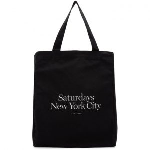 Saturdays NYC Black Miller Standard Tote