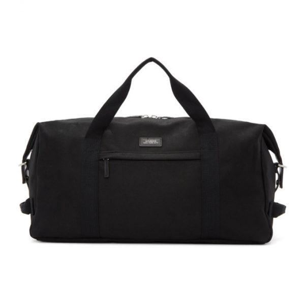 Saturdays NYC Black Norfolk Hold All Duffle Bag