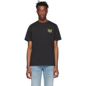 Saturdays NYC Black Script Logo T-Shirt