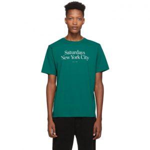 Saturdays NYC Green Miller Standard T-Shirt