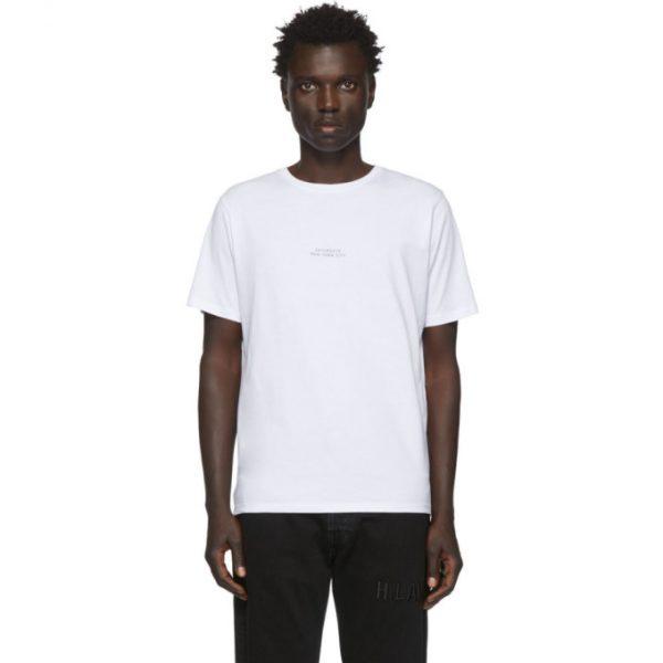 Saturdays NYC White Gotham Shadow T-Shirt