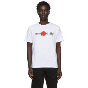 Saturdays NYC White NYC Moonflower T-Shirt