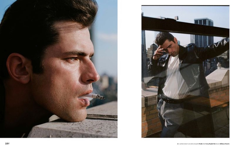 Sean O'Pry stars in a story for Collectible Dry.