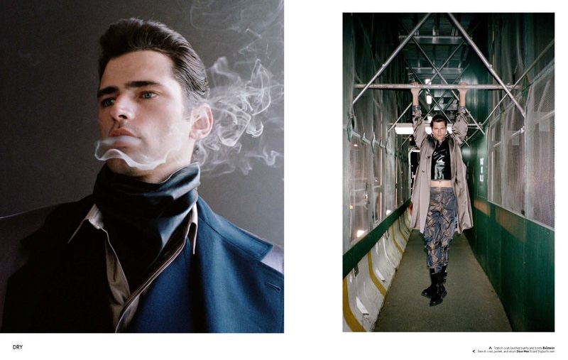 Sean O'Pry Stars in Collectible Dry Cover Story