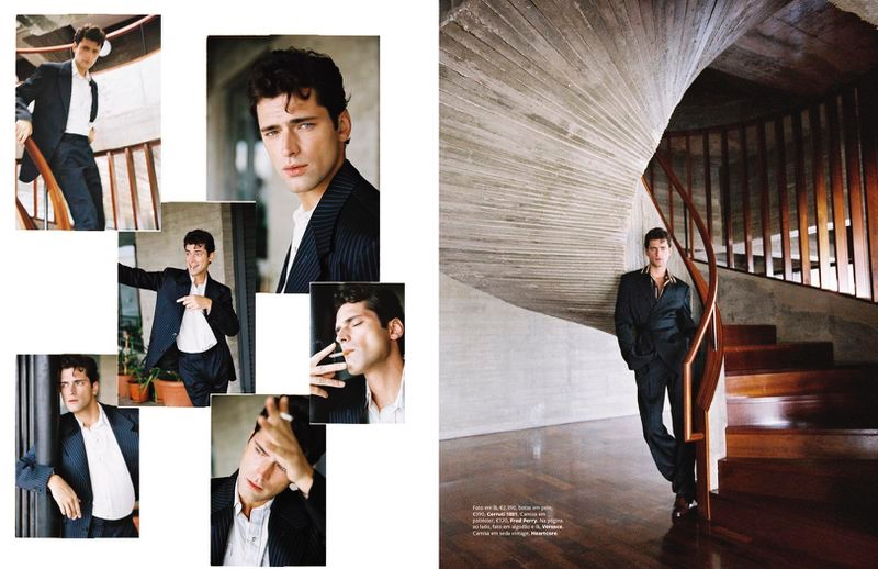 Sean O'Pry is GQ Portugal's Model of the Year