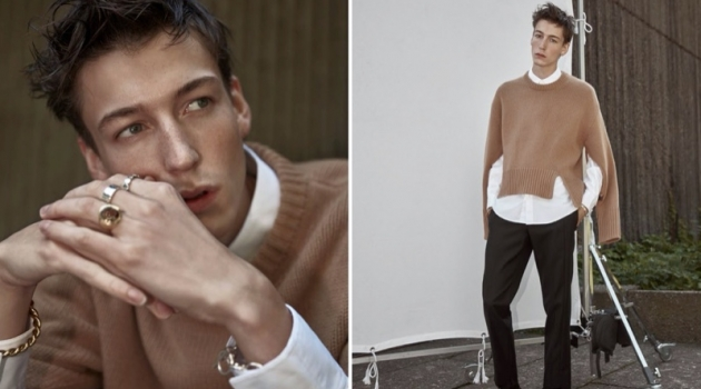Nick Fortna Inspires in Designer Style for Simons