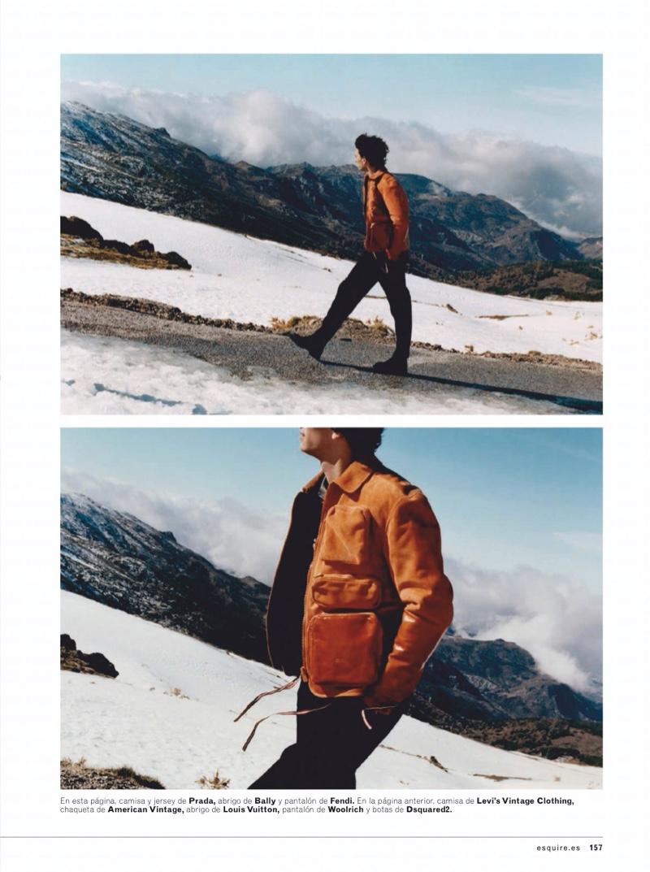 En la Cumbre: Thibaud Charon for Esquire España