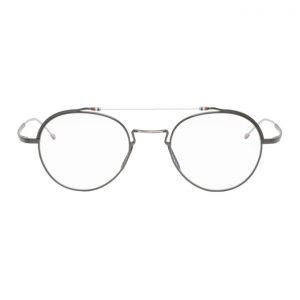 Thom Browne Silver TBX912 Glasses