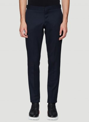 Thom Browne Unconstructed Chino Pants in Navy size JPN - 3