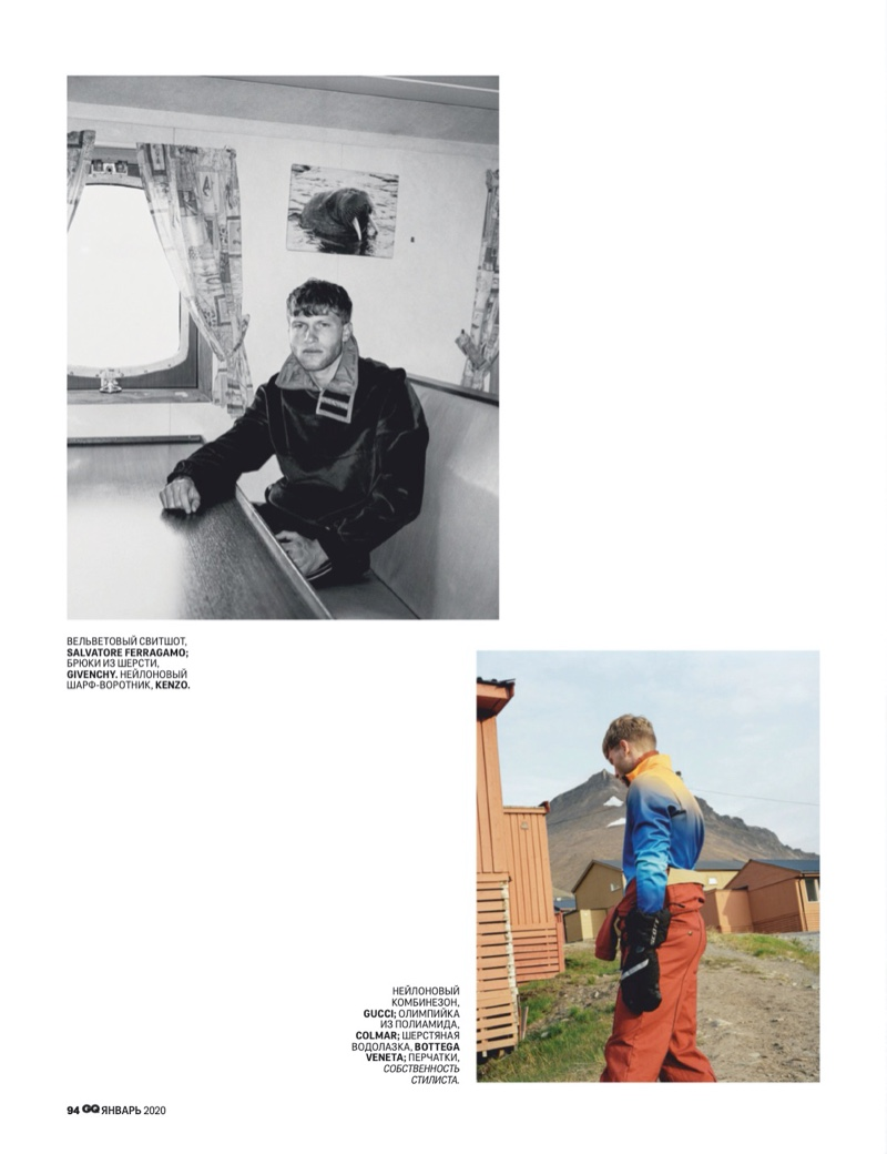 Tim Grupp Heads to Svalbard for GQ Russia