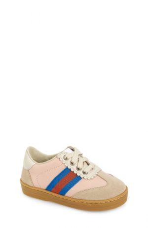 Toddler Gucci G74 Low Top Sneaker, Size 7US / 23EU - Blue