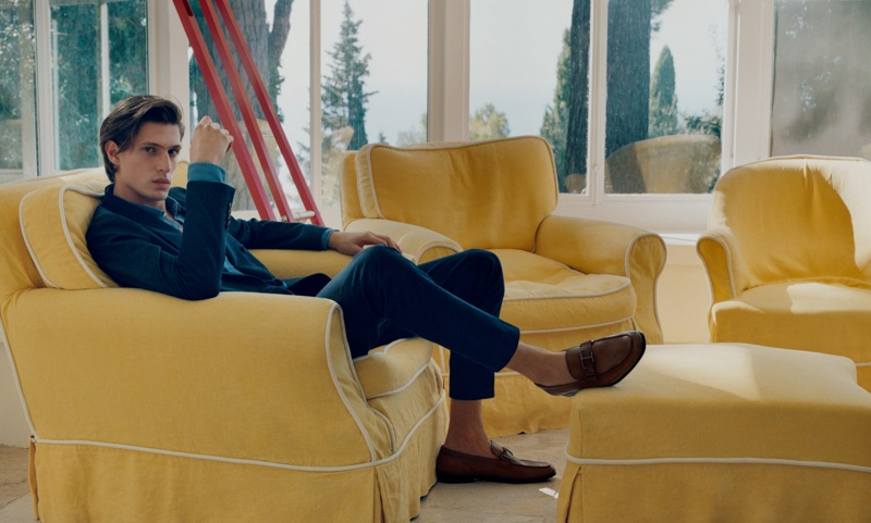 Tod's enlists Edoardo Sebastianelli as the star of its resort 2020 campaign.