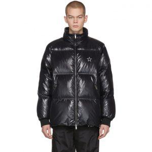 Valentino Black VLTN Star Down Jacket