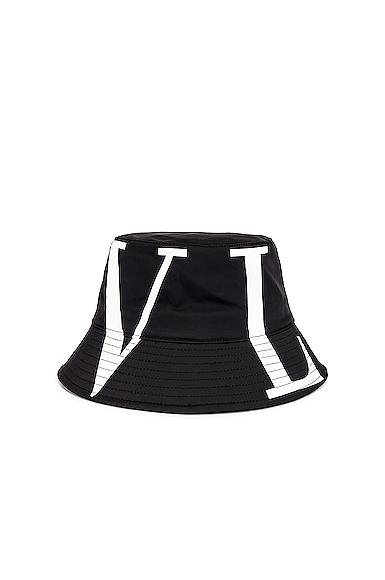 Valentino Bucket Hat in Black