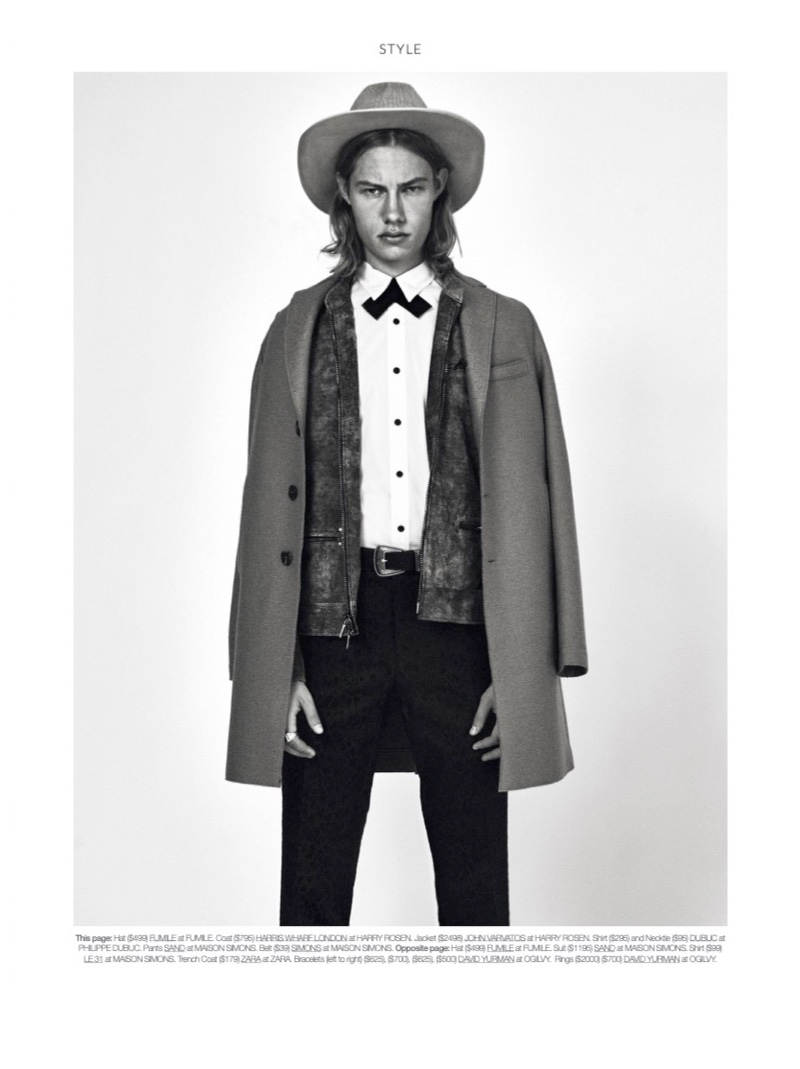 Lonesome Cowboy: Walter Perc for DTK Men