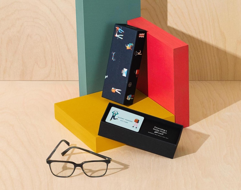 Give the gift of eyewear with a Warby Parker gift card for the holidays.