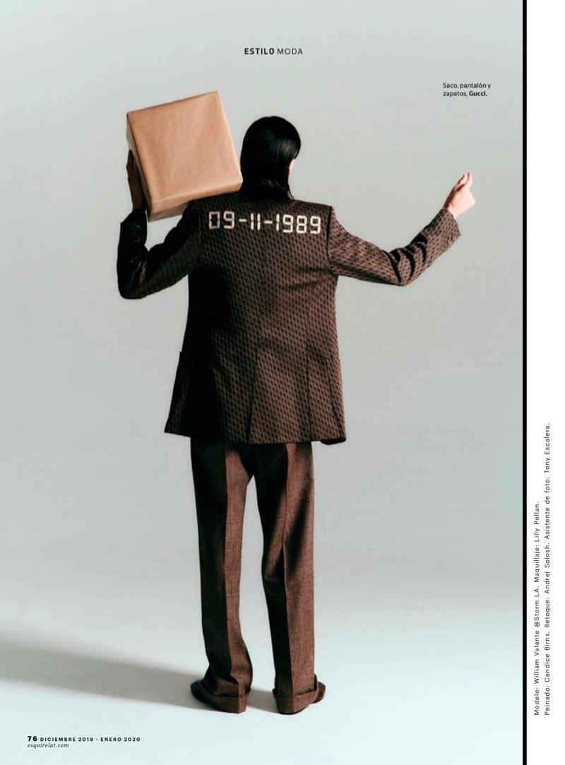 9 to 5: William Valente for Esquire México