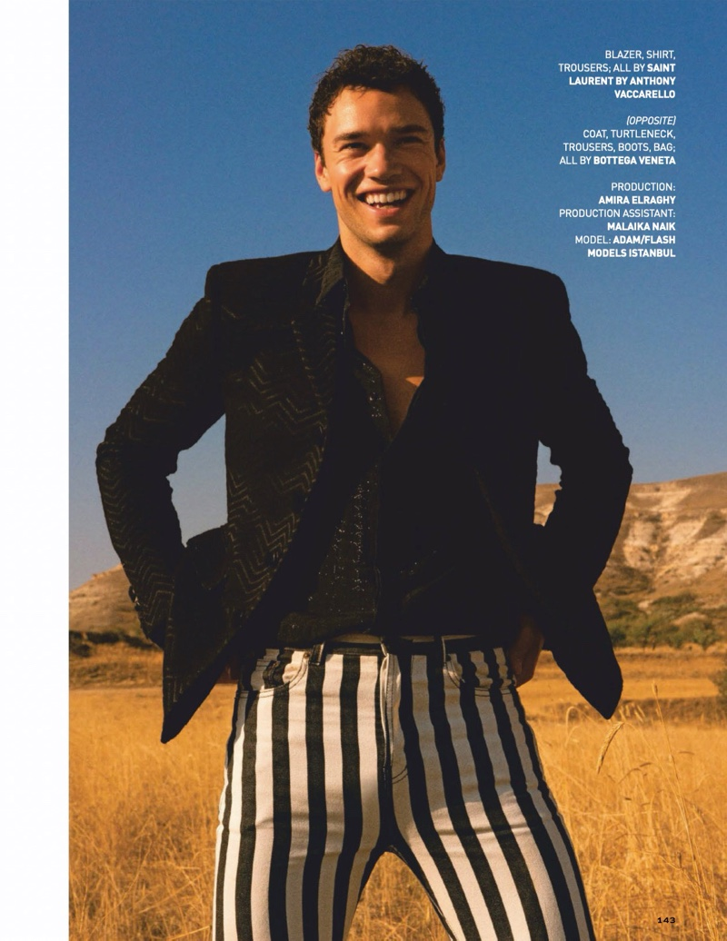Good Vibrations: Adam Loebbert for GQ India