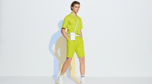 BOSS Embraces Bold Colors for Pre-Fall '20 Collection