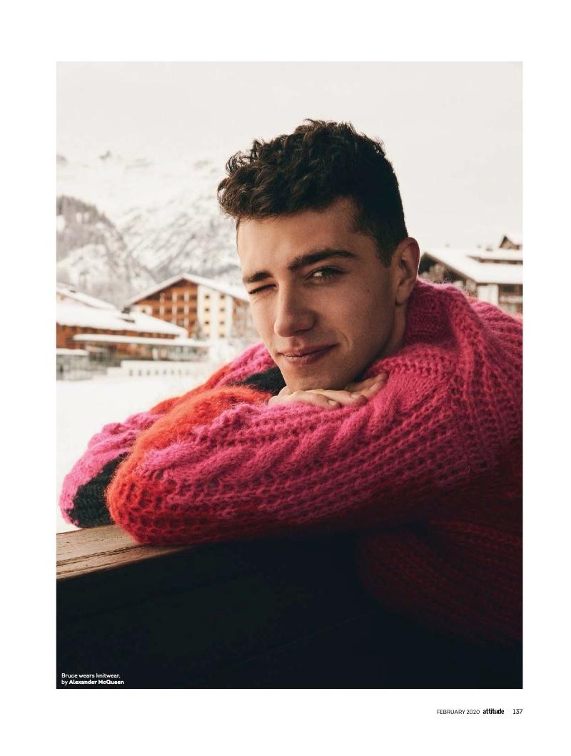 Bruce Herbelin-Earle Checks Into Hotel Arlberg for Attitude