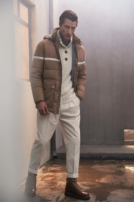 Brunello Cucinelli Addresses the Man About Town for Fall '20 Collection