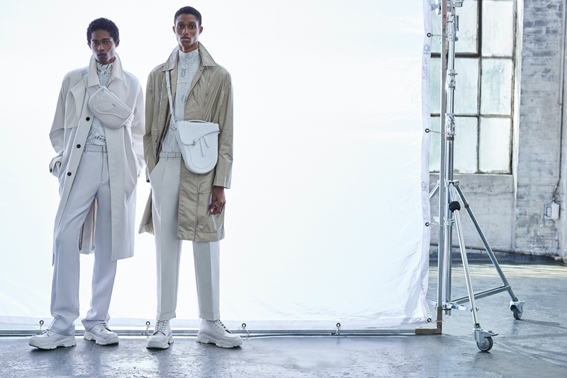 Romaine & Jonny Inspire in Dior Men for Haute Living
