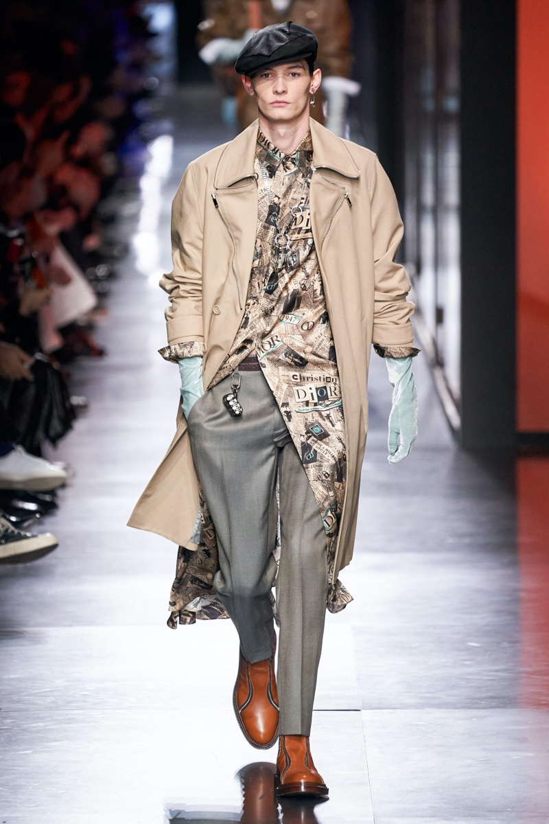 Dior Men presents its fall-winter 2020 collection.