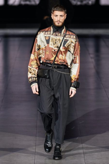 Dolce & Gabbana Celebrates Artistic Craftsmanship with Fall '20 Collection