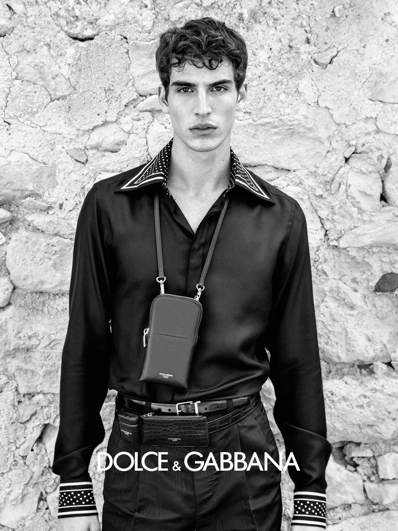 Amerigo Valenti fronts Dolce & Gabbana's spring-summer 2020 campaign.