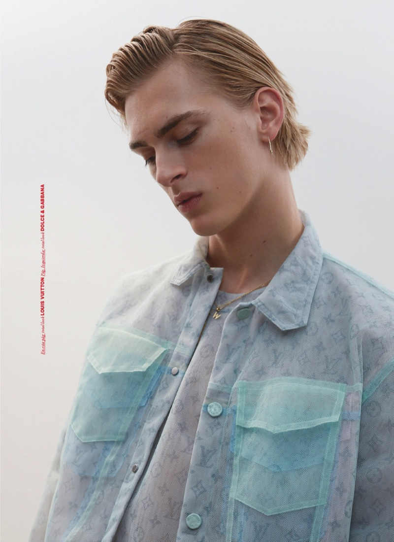 Generation Next: Dominik Dons Fresh Styles for Issue Cover Story