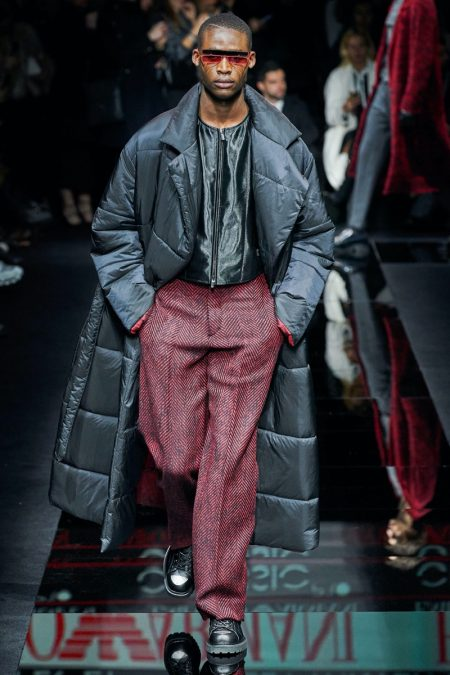 Emporio Armani Magnifies Classic Menswear with Fall '20 Collection