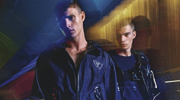 Emporio Armani enlists Julian Schneyder and Dalibor Urosevic as the stars of its spring-summer 2020 campaign.