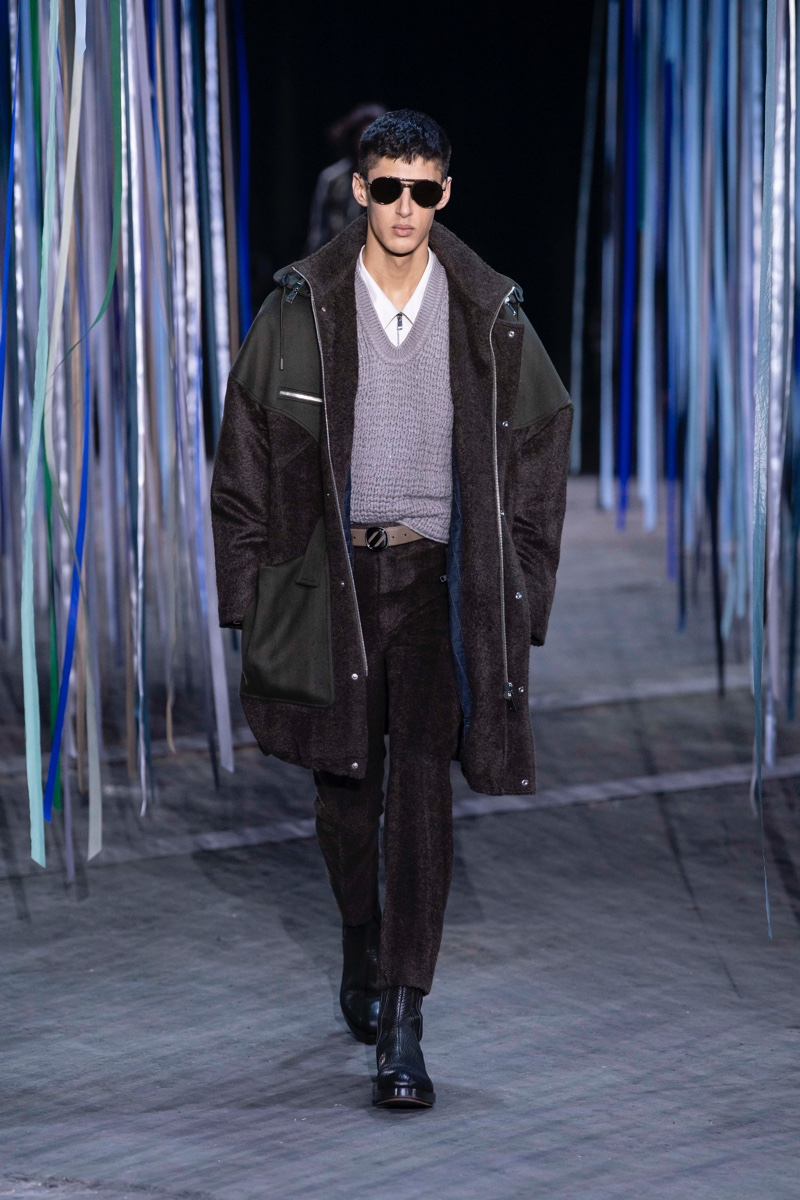 Ermenegildo Zegna Presents 'Art for Earth' with Fall '20 Collection