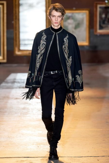 Etro Goes Traditional with an 'Exotic Twist' for Fall '20 Collection