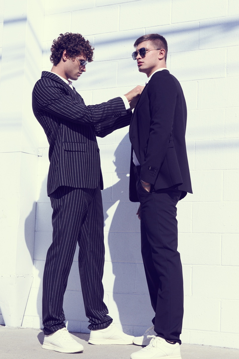 Fashionisto Exclusive: Dean Michael and Ben Crofchick photographed by Santiago Bisso