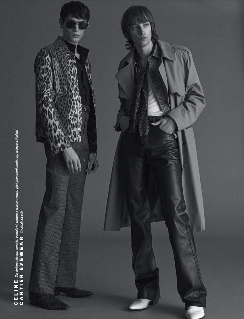 Future Season: Thomas, George + More for GQ Italia