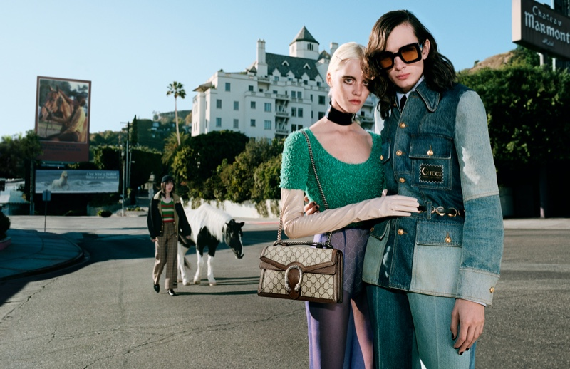 Gucci takes to Château Marmont for its spring-summer 2020 campaign.