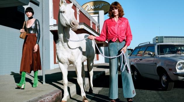 Gucci & Horses Take on LA for Spring '20 Campaign