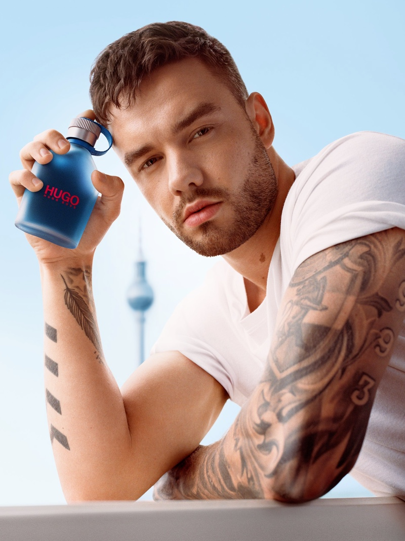 Liam Payne fronts HUGO Now's fragrance campaign.