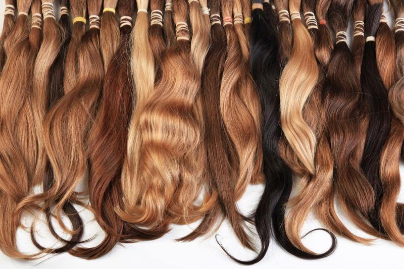 Hair Extension Bundles Different Colors